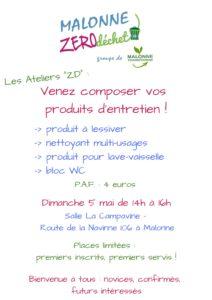 """Deuxième """"Atelier zéro déchet"""" @ Malonne - Salle la Campavine"""