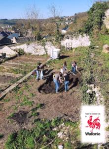 Porte ouverte aux jardins partagés de Malonne @ Jardins partagés Hénallux
