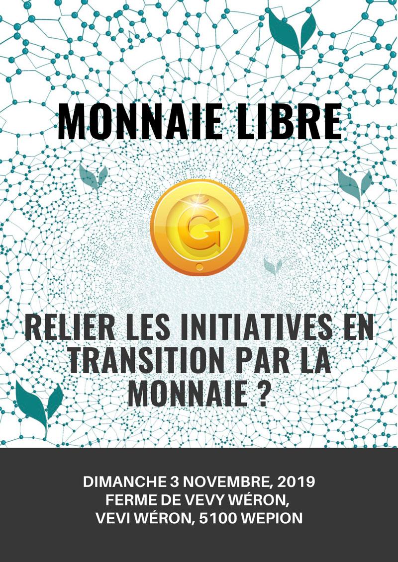Monnaie libre : journée d'information @ Vévy Wéron