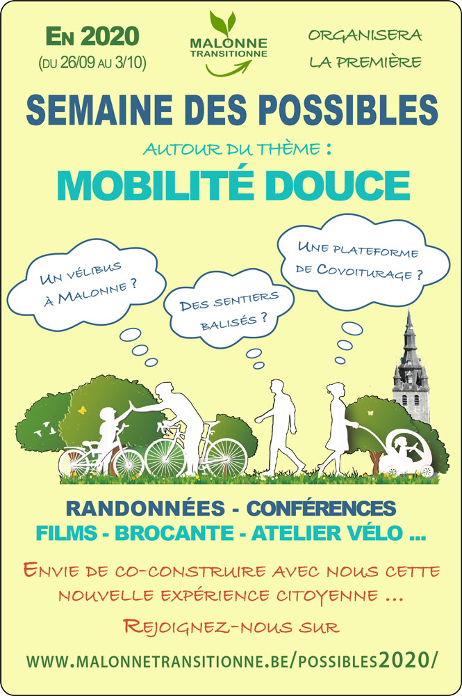 Semaine des Possibles @ Malonne | Malonne | Wallonie | Belgique